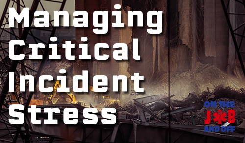 Managing Critical Incident Stress: EMS course image